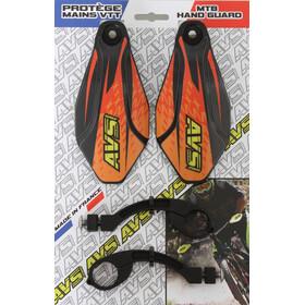 AVS Racing Handschutz Set black/orange